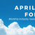 April Cloud Forecast