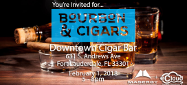 Event: Bourbon & Cigars!